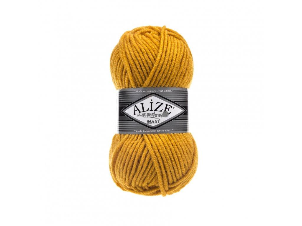 Superlana maxi 488 tmavší žlutá
