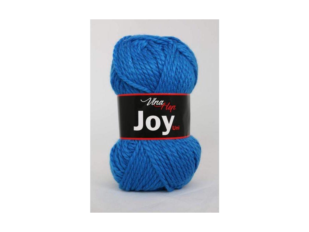 Příze Joy uni 4128 modrá
