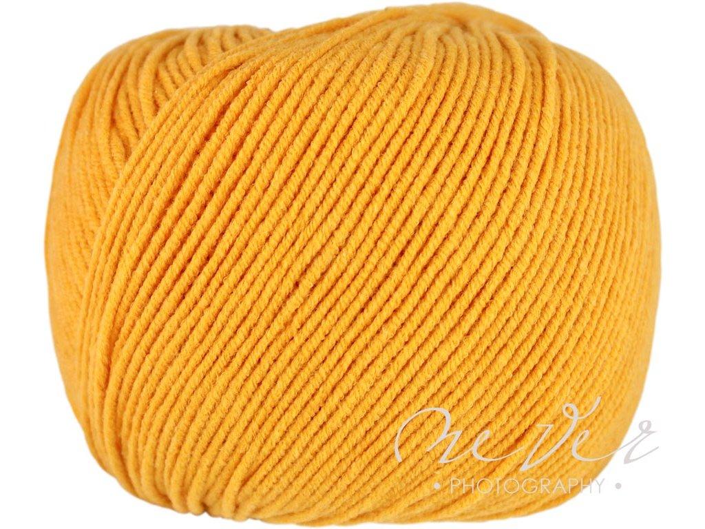 Jeans - Vlna Hep 8182 žlutá