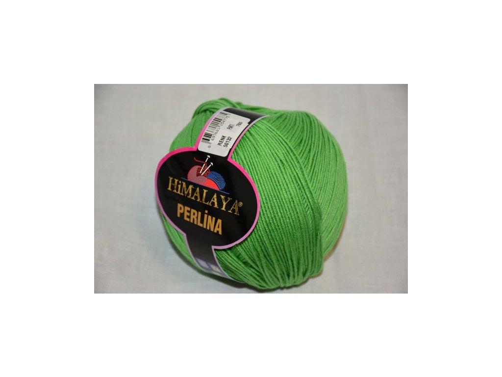 Příze Perlina 132 zelená