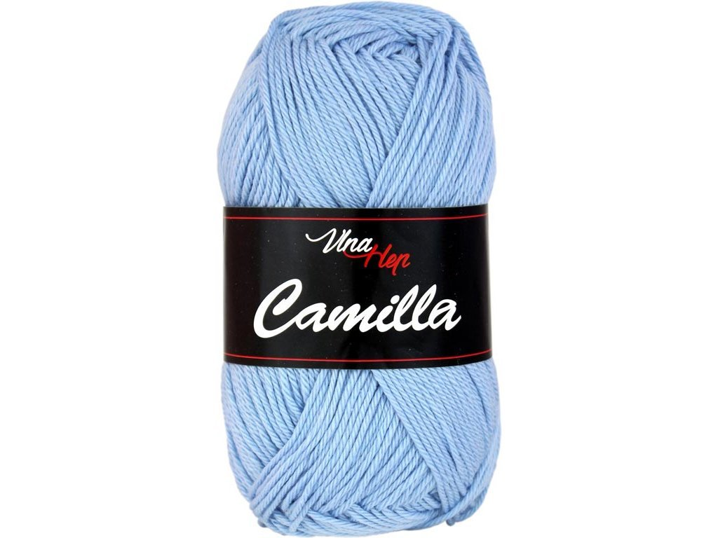 Příze Camilla 8085 modrá