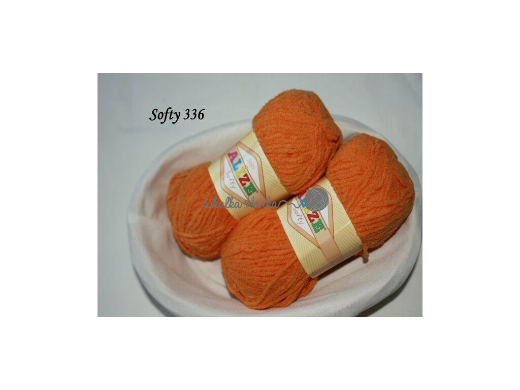 Softy 336 oranžová