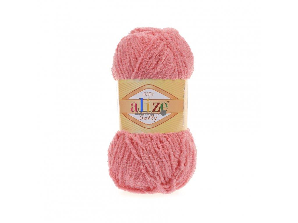 Softy 265 korálová