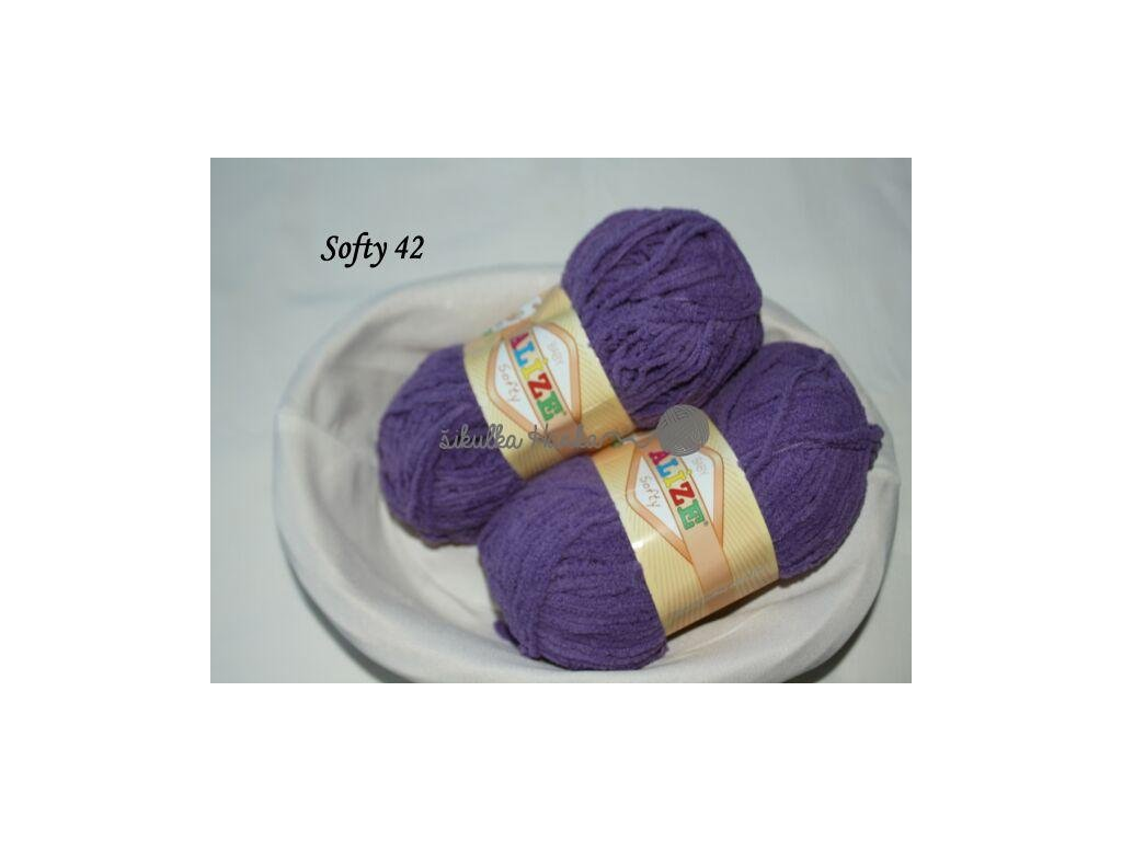 Softy 42 fialová