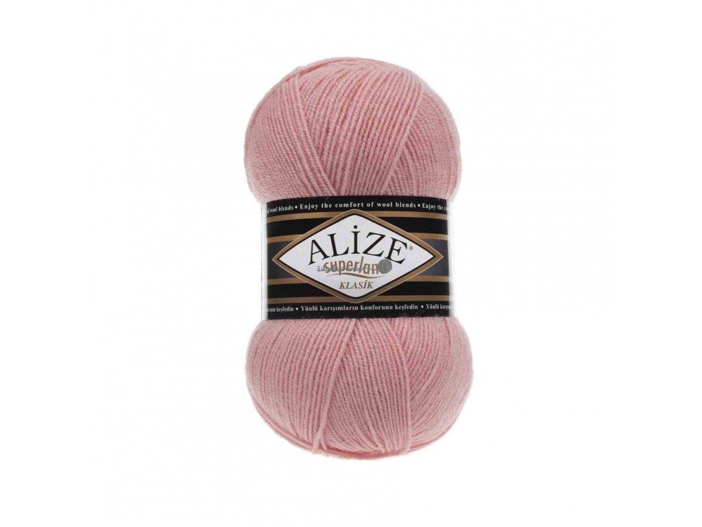 Příze Alize Superlana klasik 363 růžová