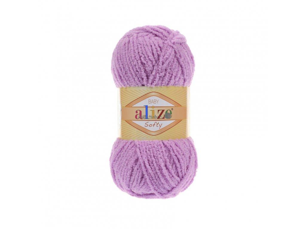 Softy 672 fialovo-růžová