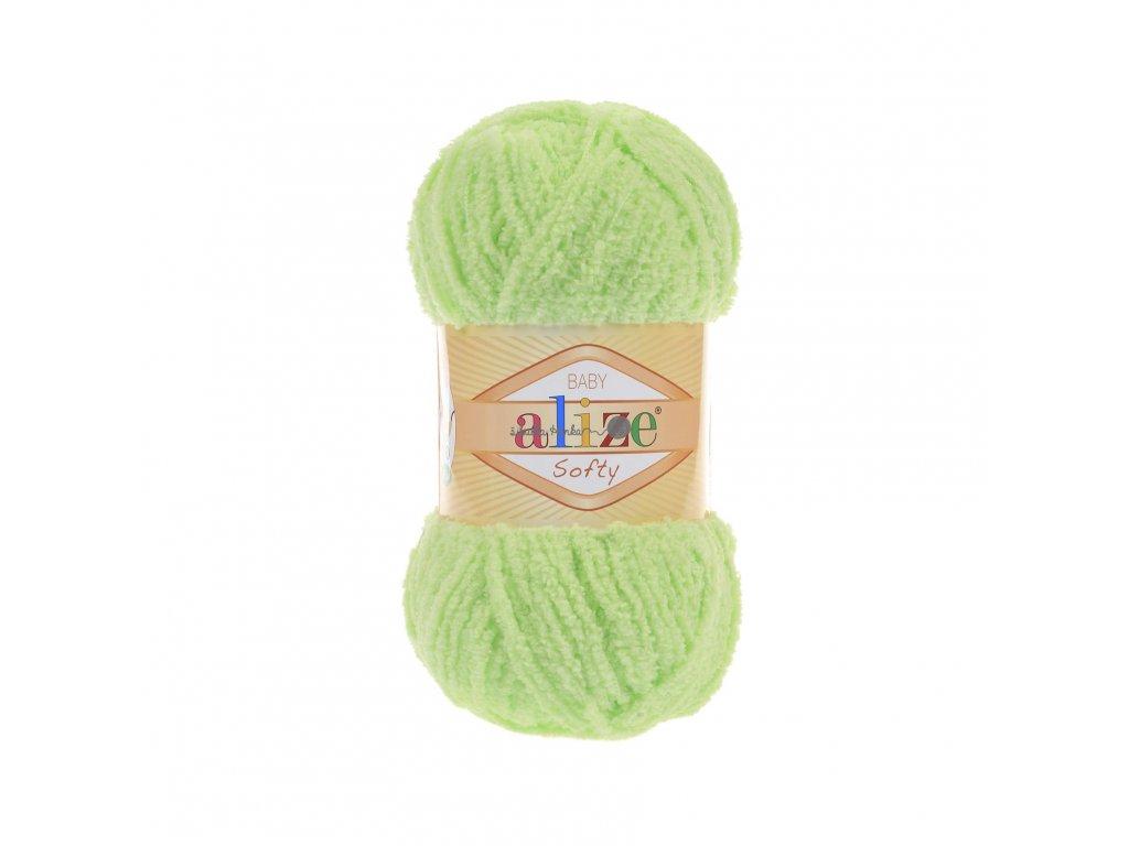 Softy 41 světlá zelená