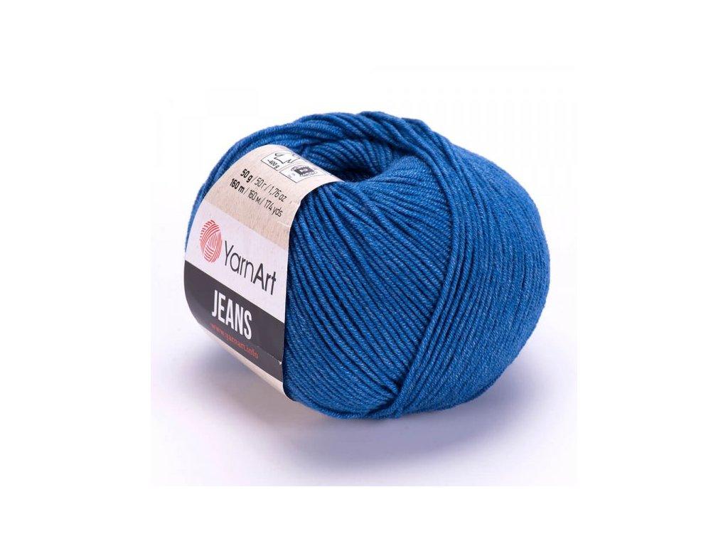 Gina 17 středně modrá