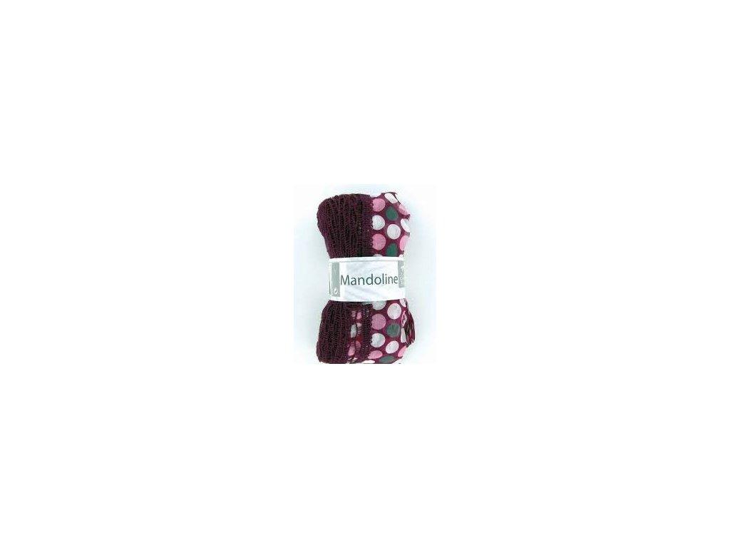 Mandoline 309 fialové puntíky