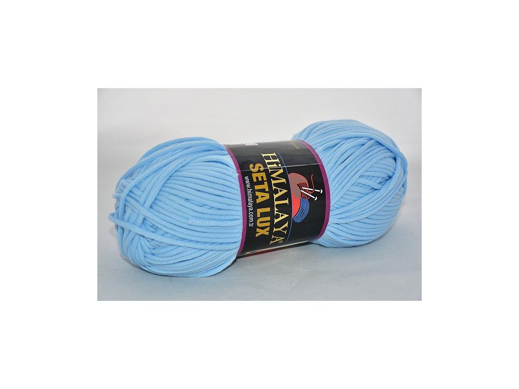 Příze Seta lux 30 pastelová modrá