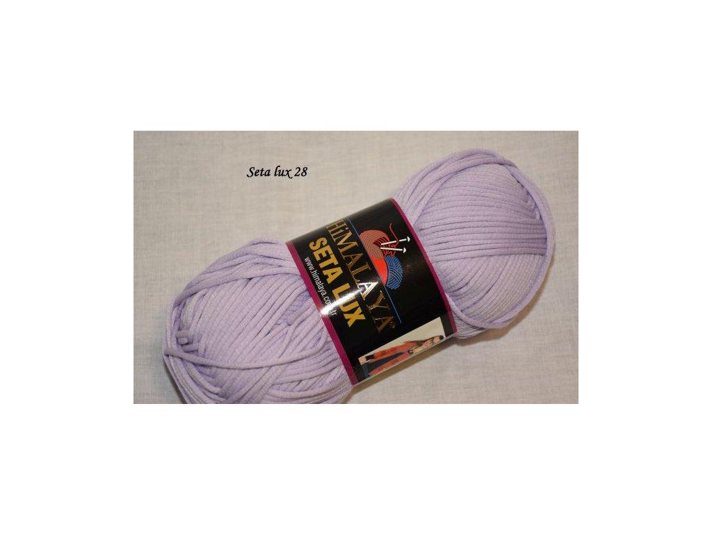 Příze Seta lux 28 sv.fialová