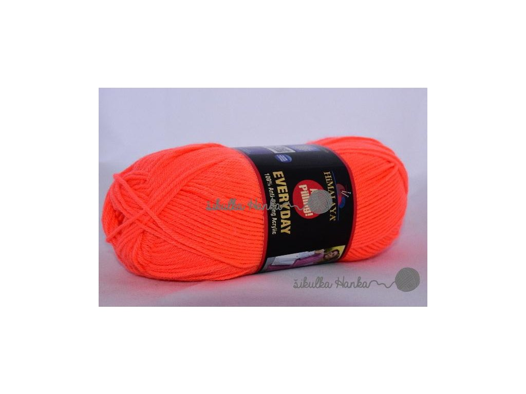 Everyday 70051 neonová oranžová