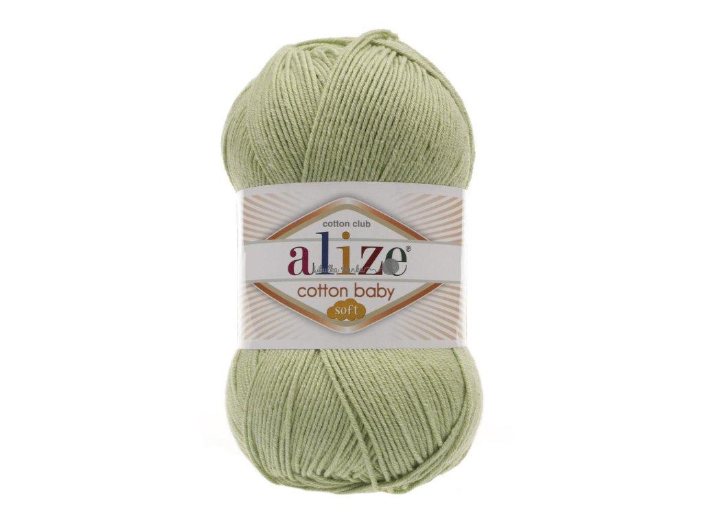 Cotton baby soft 101 sv.zelená š.152320