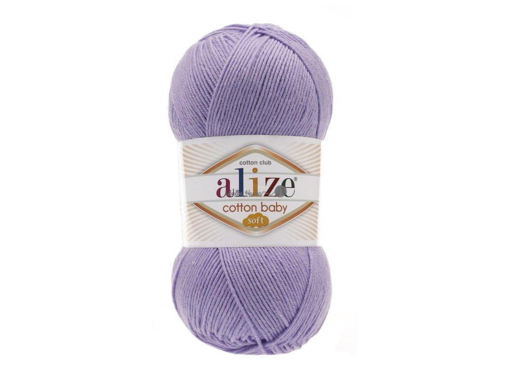 Cotton baby soft 547 lila