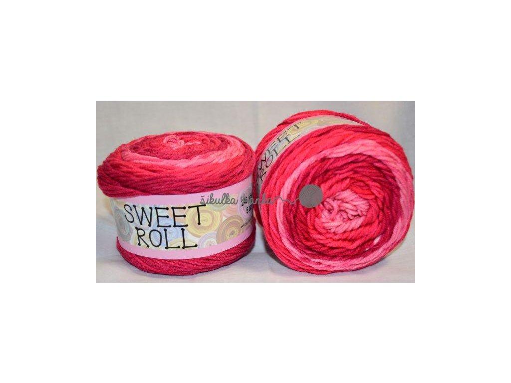 Sweet roll 03 růžová