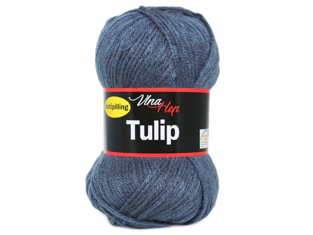 Příze Tulip 4114 ocelová