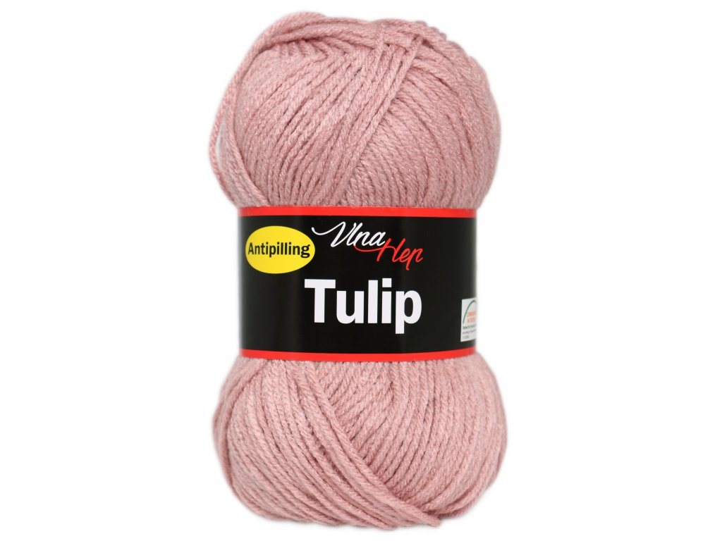 Příze Tulip 4401 starorůžová