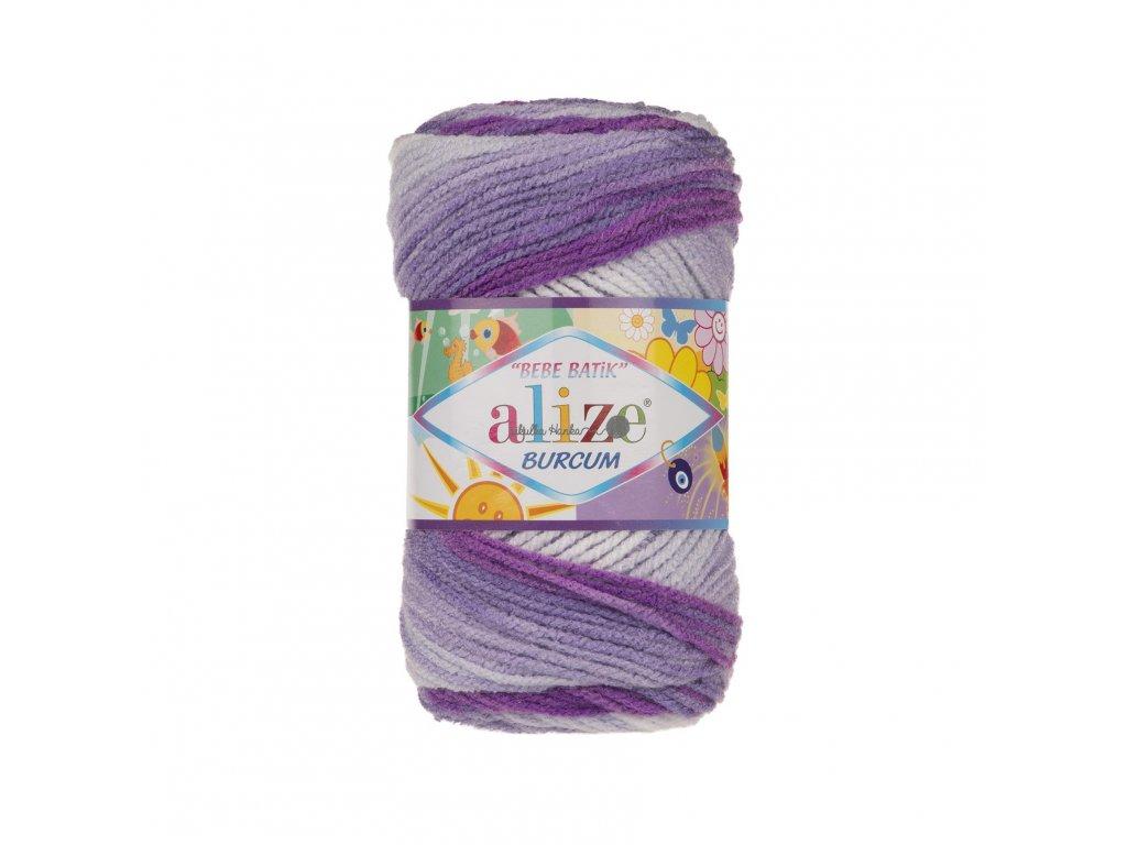 Burkum bebe batik 2167 fialovo-bílá