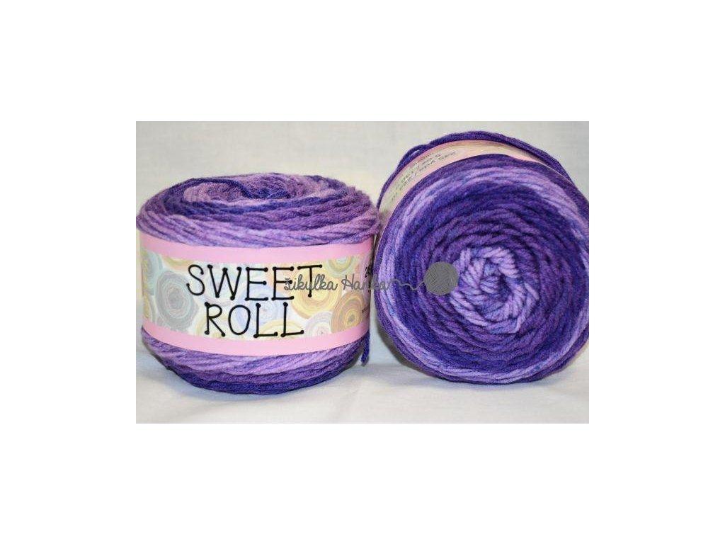 Sweet roll 01 tm. fialová