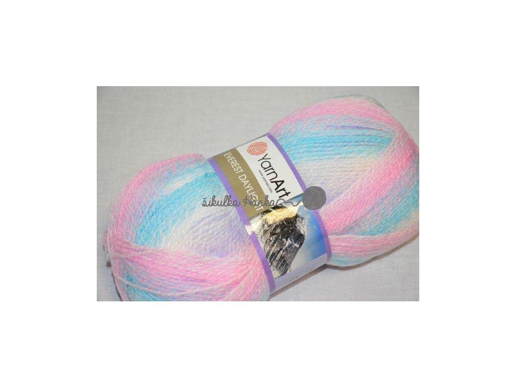 Everest daylight 6031 růžovo-modrá