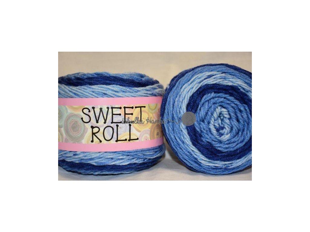 Sweet roll 02 modrá