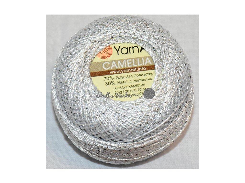 Camellia 411 stříbrná