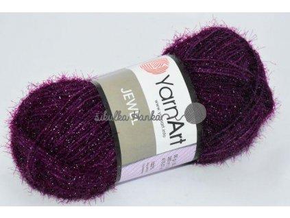 Příze Jewel 164 tmavě fialová