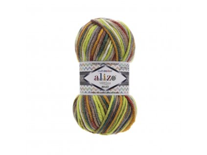 Superlana maxi multicolor 52149 zeleno-barevná