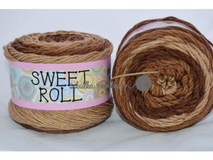 Sweet roll 06 hnědá