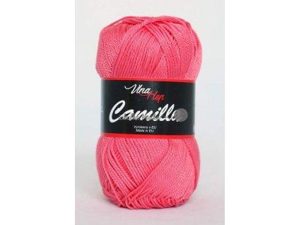 Příze Camilla 8006 růžovo-lososová