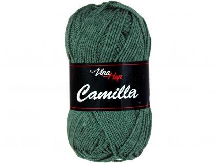 Příze Camilla 8144 tm.zelená