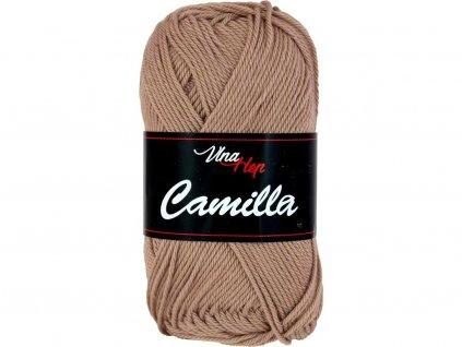 Příze Camilla 8217 hnědo-béžová