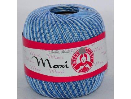 Příze MAXI 5355 modro-bílá