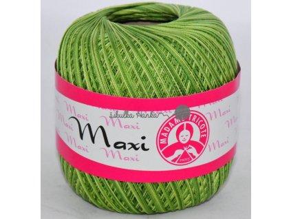 Příze MAXI 0188 zeleno-zelená