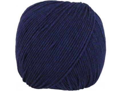 Jeans - Vlna Hep 8121 tmavě modrá