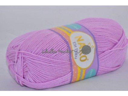 Příze Elit baby 5090 světlounká fialová