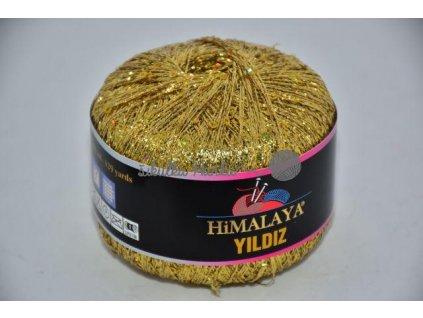 Příze Yildiz zlatá