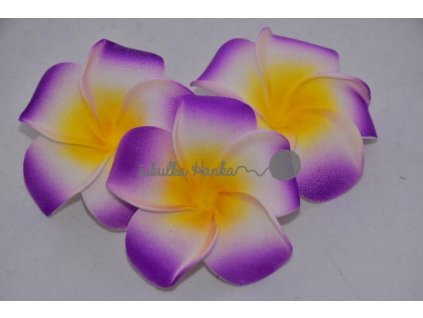 Dekorace hawai květ fialový