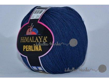 Příze Perlina 153 tm. modrá