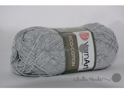 Eco cotton 763 sv. šedá