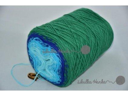 Candy 835 zeleno-modrá