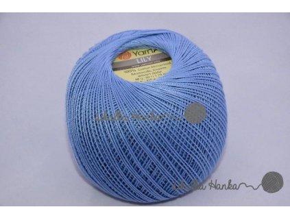 Příze Yarn Art Lily 0058 modro-šedá