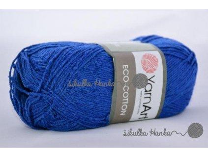 Eco cotton 774 královská modrá