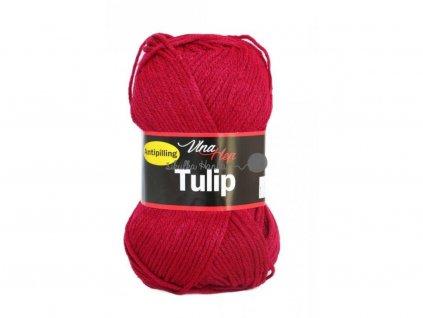 Příze Tulip 4010 tm. červená