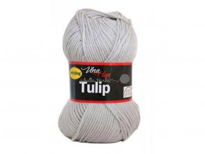 Příze Tulip 4230 sv. šedá