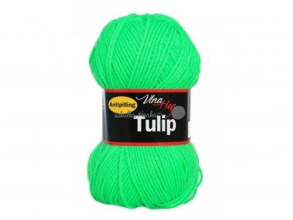 Příze Tulip 4313 neonová zelená