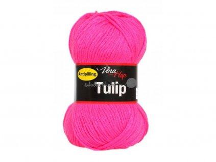 Příze Tulip 4314 neonová růžová
