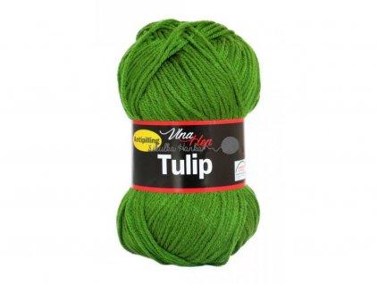 Příze Tulip 4456 zelená