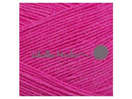 Cotton soft 59 zářivá růžová