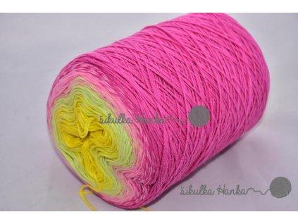 Candy 805 růžovo-zeleno-žlutá